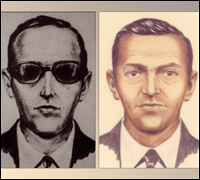 FBI Sketch of D. B. Cooper